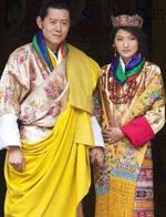 亚洲王妃美貌比拼 不丹王妃超赞