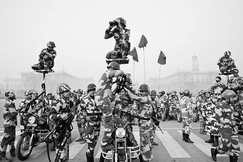 印度9万警力迎奥巴马下周来访 受邀国庆阅兵