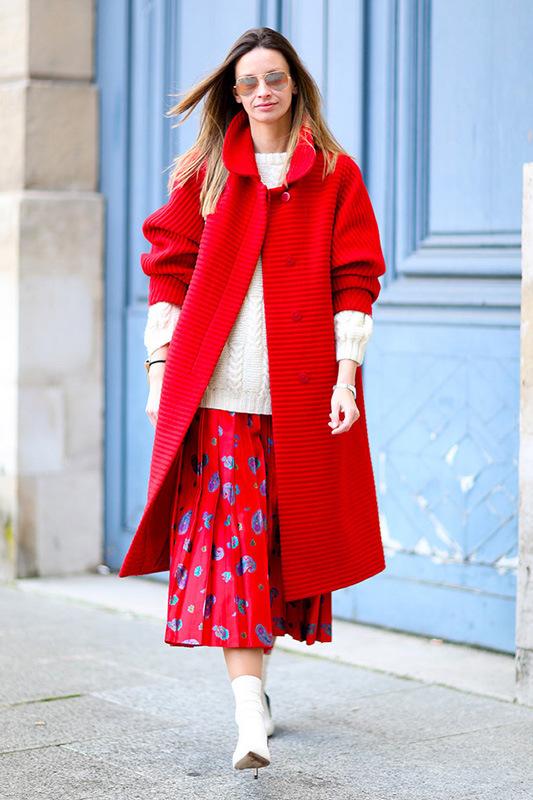 盘点2014年度出现在时装周上的经典大衣