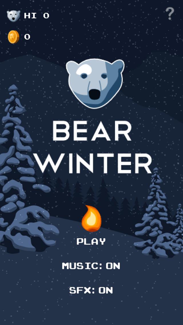 《冬季北极熊 Bear Winter》游戏截图