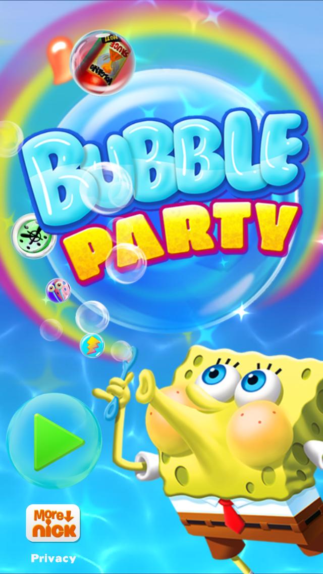 《海绵宝宝泡泡党 SpongeBob Bubble Party》截图
