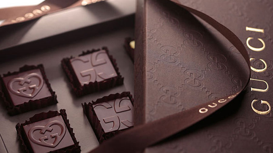 Gucci推出2015情人节巧克力礼盒