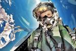 艺高人胆大 战斗机飞行员玩自拍