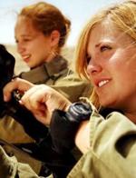 漂亮能干 风情万种的以色列女兵
