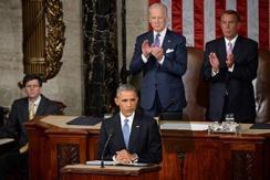 奥巴马今日发表国情咨文 警告俄罗斯