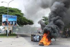 刚果(金)爆发示威游行