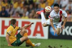国足亚洲杯0:2不敌东道主 止步八强