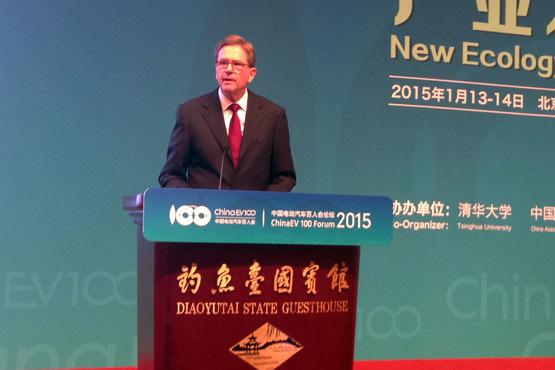 海兹曼:地方保护损害中国新能源车优势