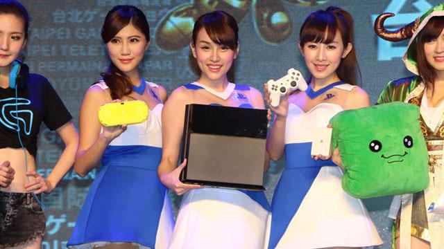 台北国际电玩展Showgirl