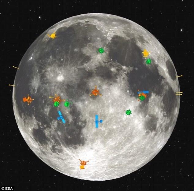 月球上的外星人_月球上的海是