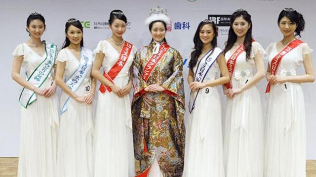 2015日本小姐选美赛落幕 体育大学女生夺魁