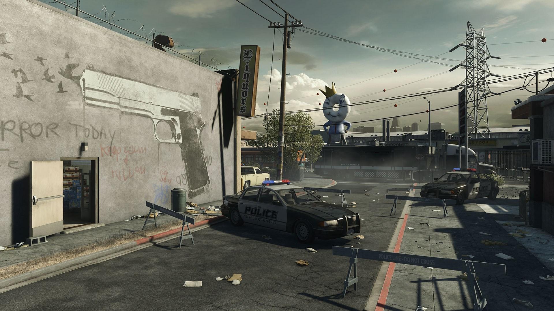 《战地:强硬路线》地图