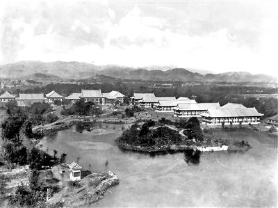 """沦为""""孤岛""""后燕京大学的校园氛围"""