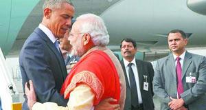 美国总统奥巴马任内第二次访问印度