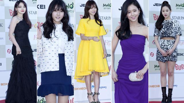 第四届Gaon Chart K-POP大奖韩举行 众星出席