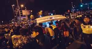 上海外滩踩踏事故