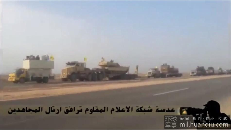 伊拉克抗击IS组织用美制M1坦克