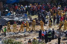 美墨西哥城一妇产医院发生爆炸 众人极力搜救婴儿