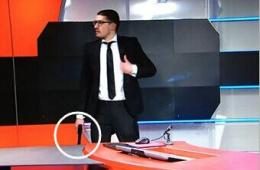 荷兰:枪手闯入直播间被警方逮捕