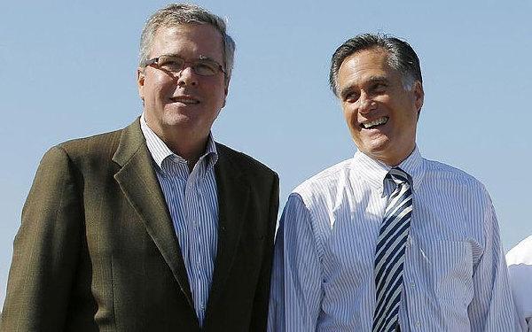 罗姆尼放弃美国总统选举 小布什弟弟提名率大升