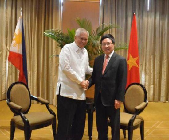 外媒:菲律宾与越南拟加强两国关系应对中国