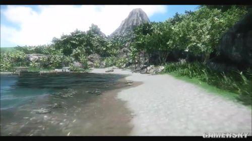 粉丝重建《孤岛惊魂》地图 风光迷人危机四伏
