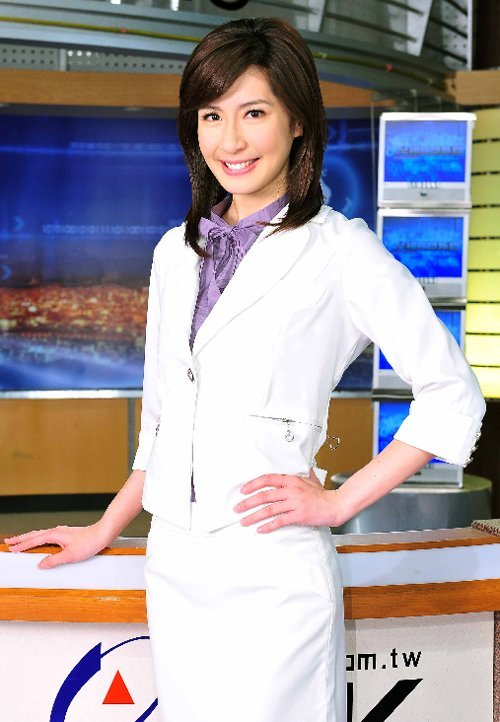 台湾十大最美女主播 清纯萌照来比美