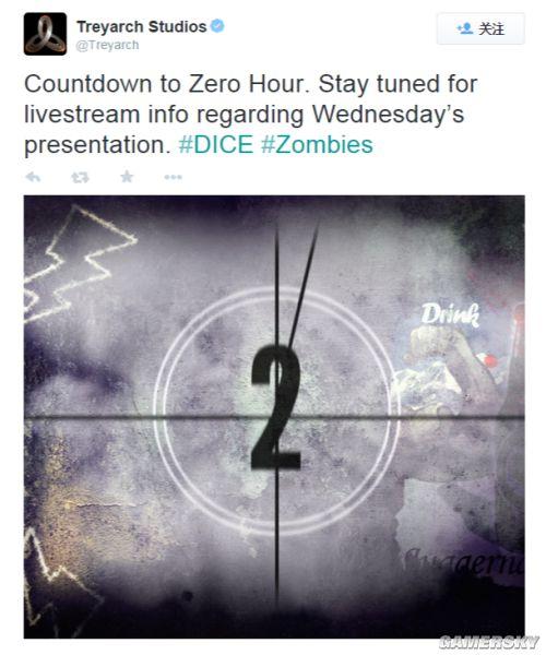 T组将发布僵尸类猛料 或为《使命召唤12》首曝