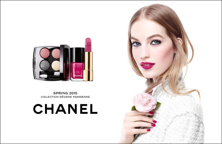 香奈儿2015春季新款彩妆系列出炉