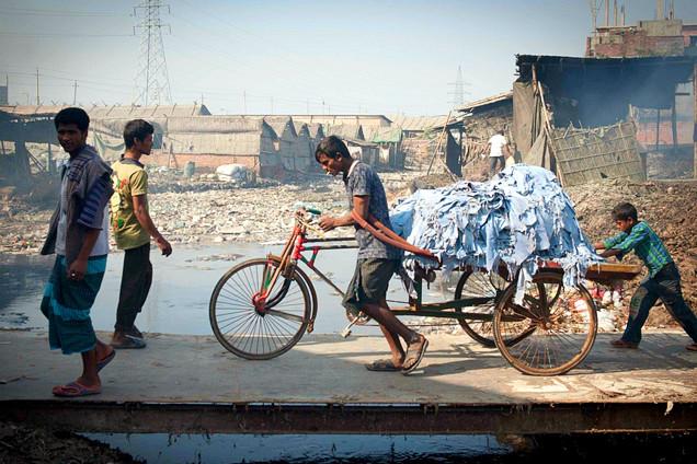 地球污染重灾区:孟加拉国皮革厂集中地