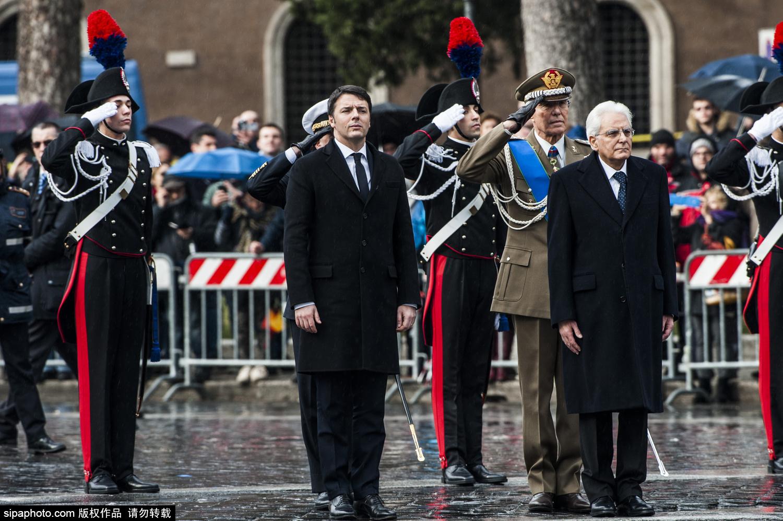 意大利前防长马塔雷拉宣誓就任新总统 现年73