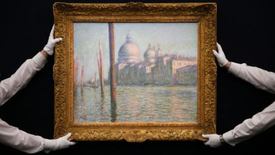 印象派大师莫奈画作拍卖 拍出8400万美元高价(图)
