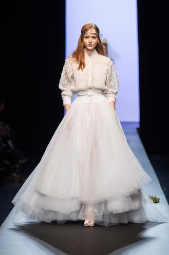 盘点2015年巴黎高级定制春夏大秀20套最美婚纱