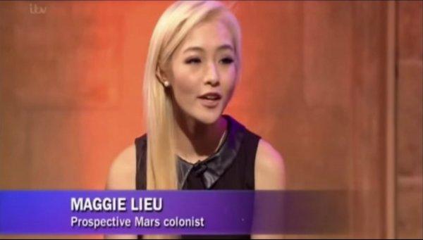 """华裔女子入选""""火星一号""""计划 或成火星产子第一人"""