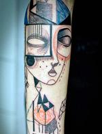 创意纹身师为客户定制专属故事纹身