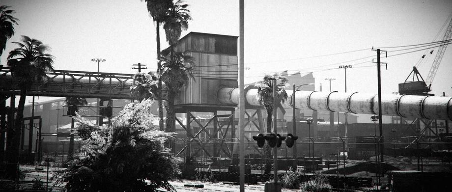 《GTA5》黑白MOD截图公布 老电影经典再现LA