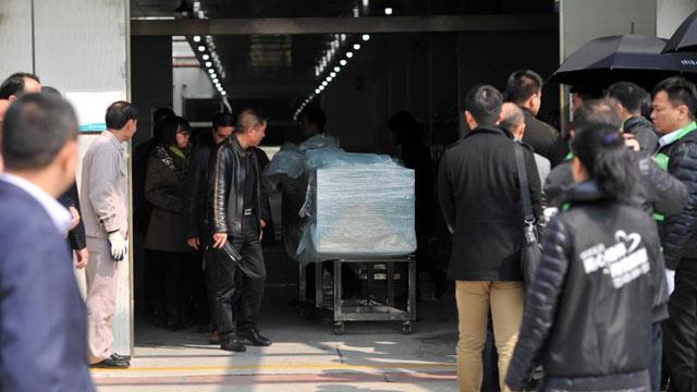 台湾复航空难部分罹难大陆旅客遗体运返厦门