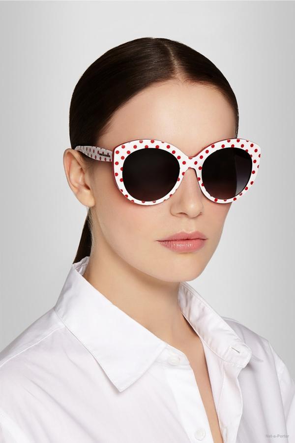 俏皮猫眼墨镜 性感小女人必备单品