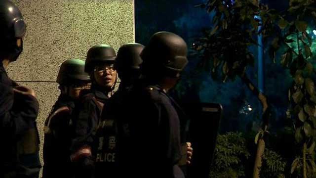 台监狱暴动震惊岛内 六嫌犯饮弹自尽