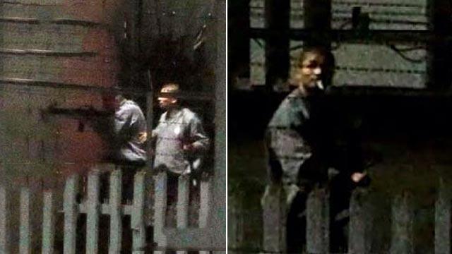 高雄监狱挟持案现场画面曝光 6名嫌犯自尽