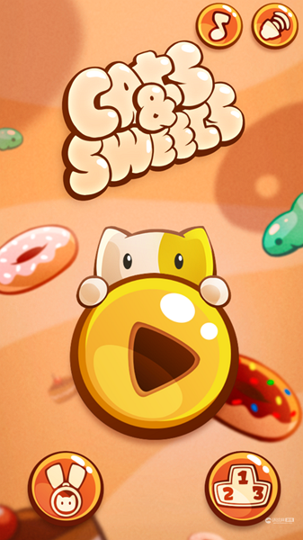 《Feed the cat with sweets》游戏截图