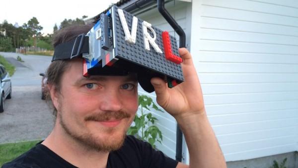 乐高积木帮你打造萌系虚拟现实眼镜