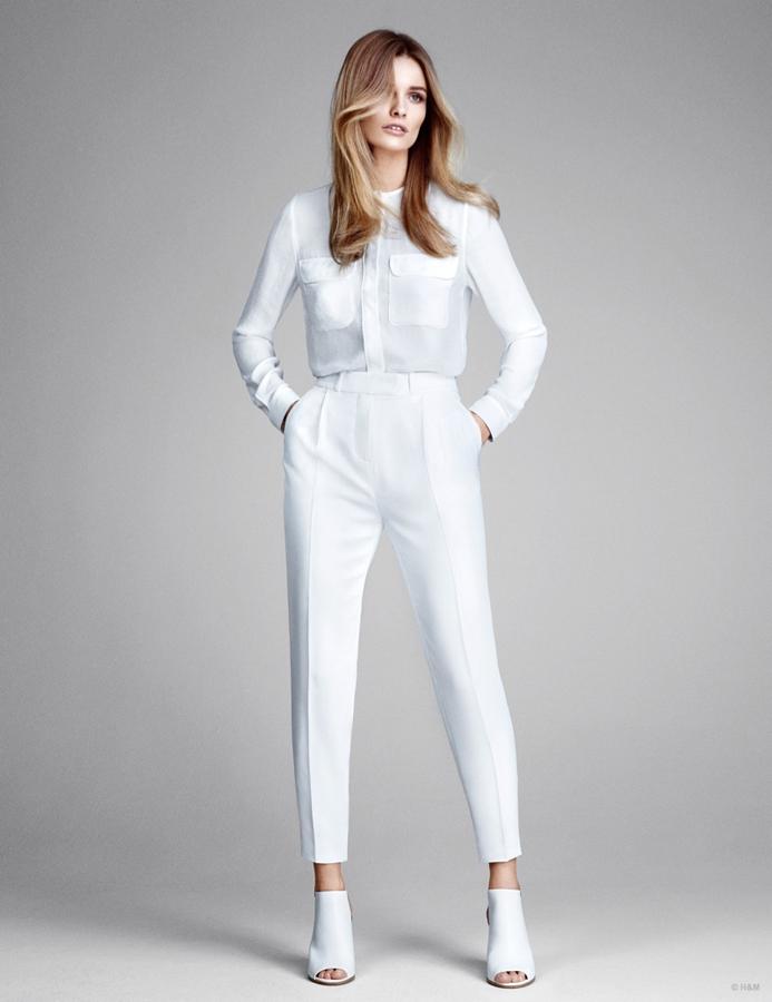 艾迪塔·维尔珂薇楚泰代言H&M2015春季裤装系列