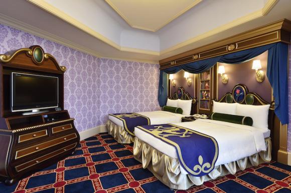 东京迪斯尼酒店打造梦幻主题客房受热捧