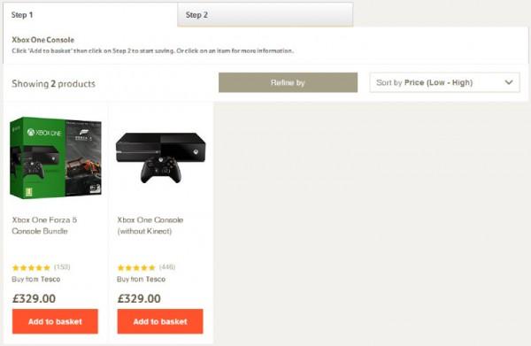 [图]售£299 乐购放出Xbox One捆绑游戏套装