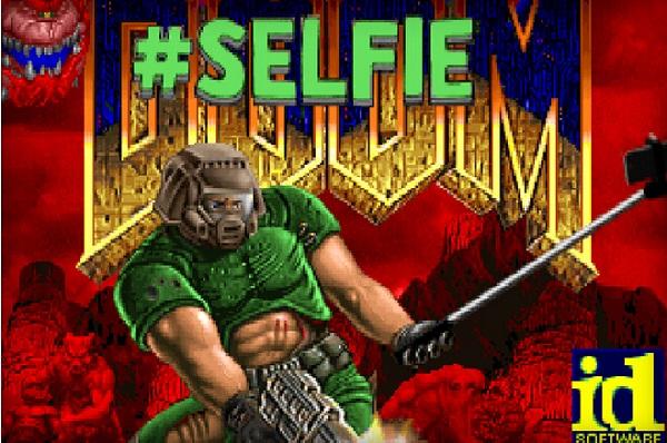 游戏MOD:当自拍杆乱入《毁灭战士》之后