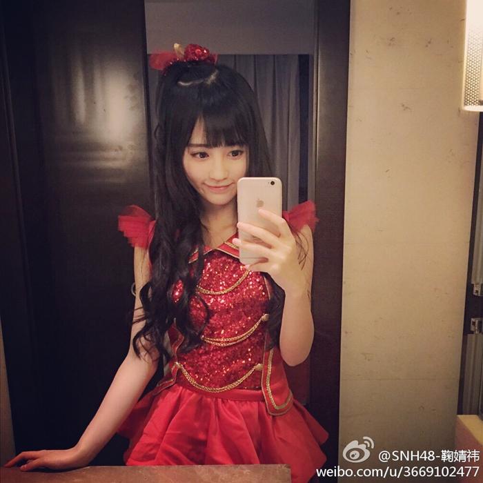 日媒评中国第一美女 鞠婧祎生活、演出图集 国