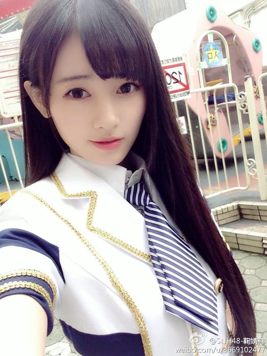 日媒评中国第一美女 鞠婧t生活