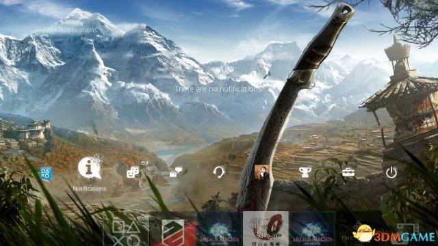 果然圈钱无止境!《孤岛惊魂4》PS4动态主题登场