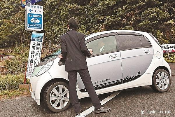 日本电动车普及加快 充电桩超加油站-国际车讯图片
